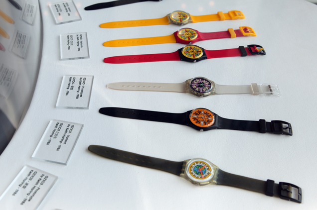 Swatch bat des records
