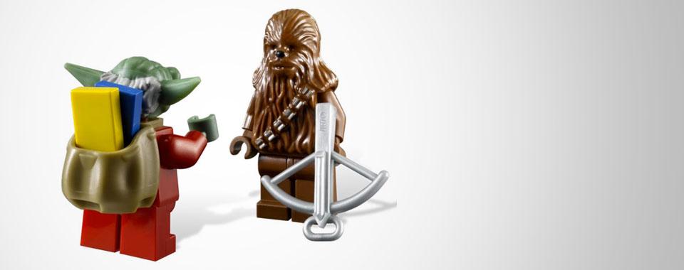 Maître Yoda dans votre calendrier de l'Avent