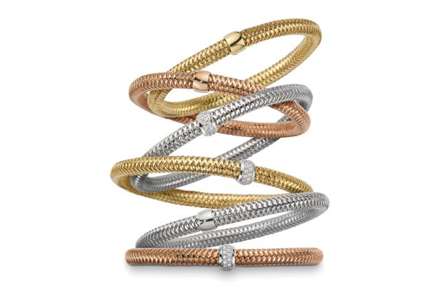 Wanted ! Les bracelets souples Roberto Coin