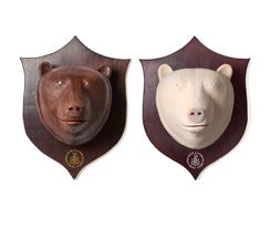 Wanted ! Un trophée ours en chocolat