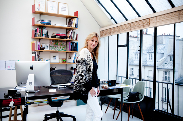 sarah lavoine carton magazine. Black Bedroom Furniture Sets. Home Design Ideas