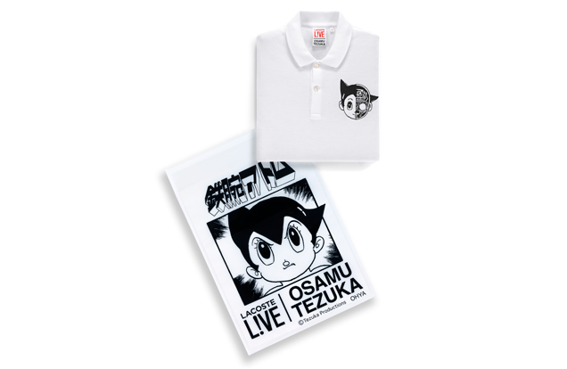 Wanted ! Un polo Lacoste x Osamu Tezuka