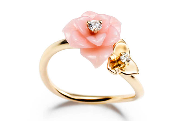 Wanted ! Une bague Piaget Rose