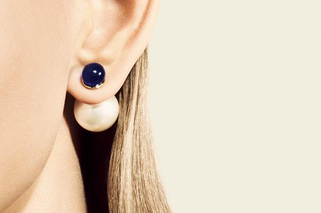 Prix boucle d'oreille perle dior