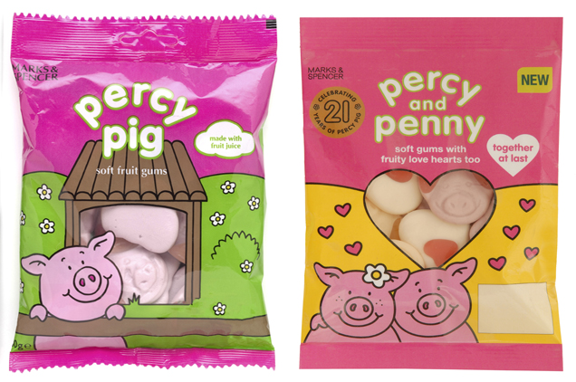 Percy Pig : le Babe anglais
