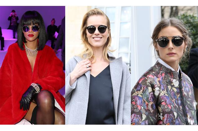 Les lunettes de Dior