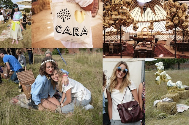 Mulberry x Cara Delevingne