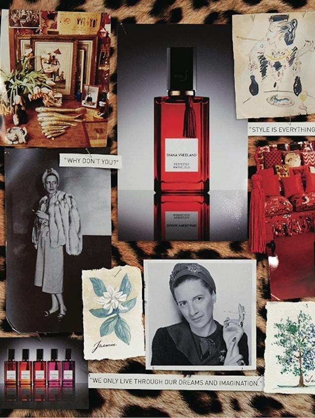 Les parfums Diana Vreeland