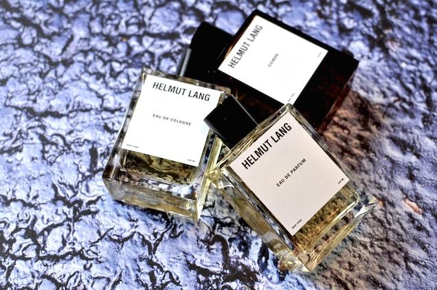Les parfums Helmut Lang