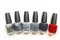OPI x fifty shades of grey