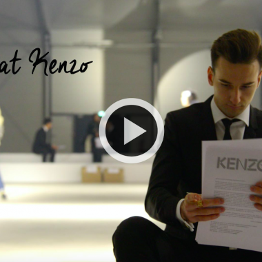 Behind the Scene Kenzo