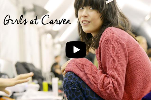 Behind the scene Carven
