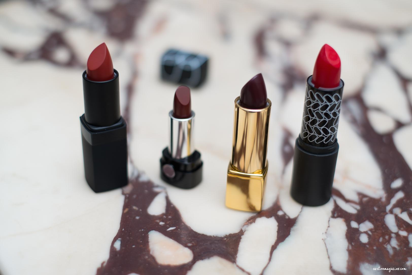 rouges à lèvres préférés