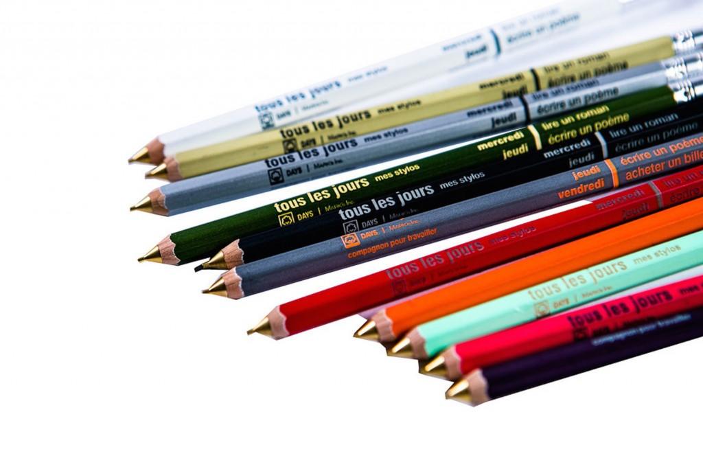 Des crayons tous les jours