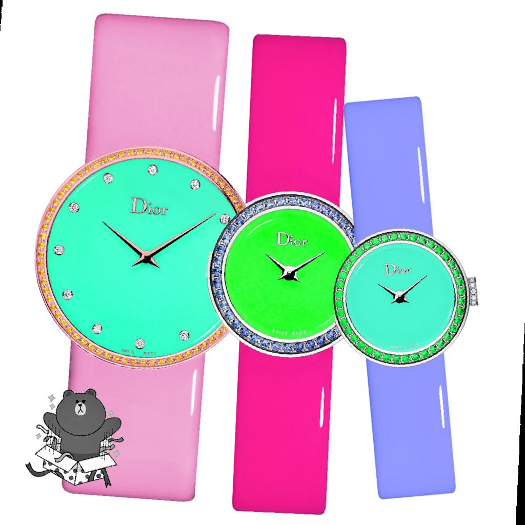 Les nouvelles montres Dior