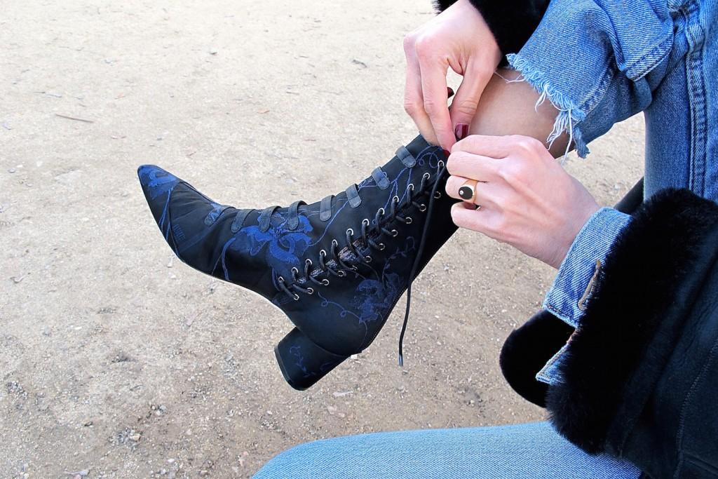 Les bottines de la Croisière Dior