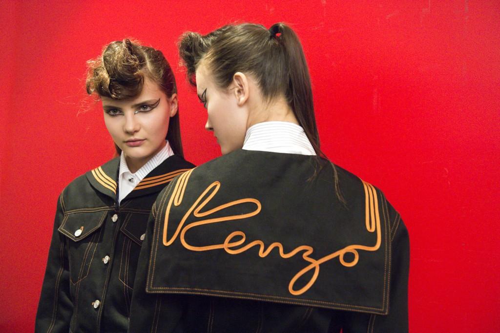 Les school girls Kenzo