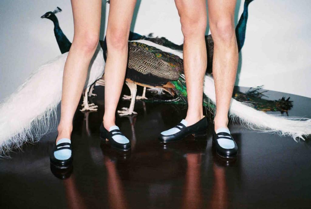Des shoes Maison Kitsuné