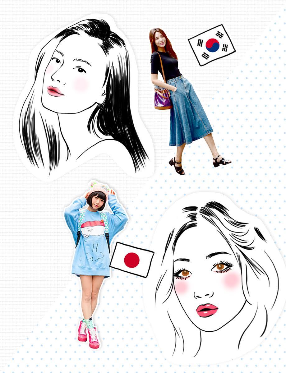 Beauté coréenne vs beauté japonaise